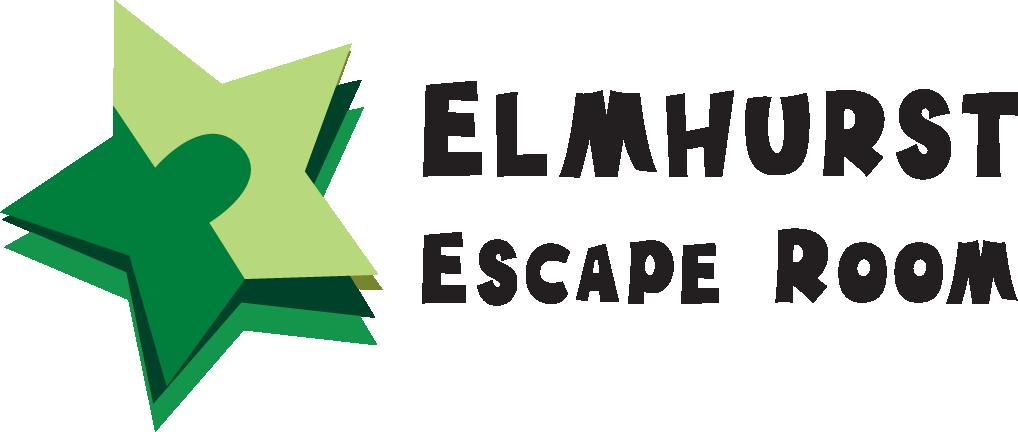 Elmhurst Escape Room logo color escape room near chicago